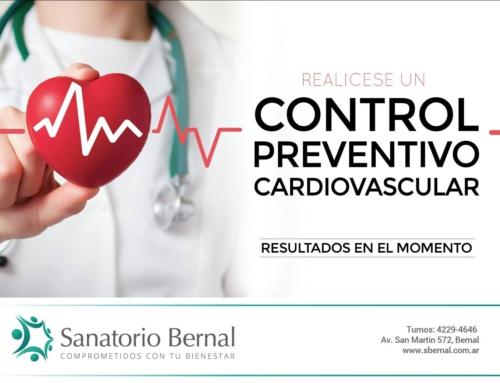 Controles preventivos: cardiovascular